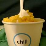 Chill frozen yogurt