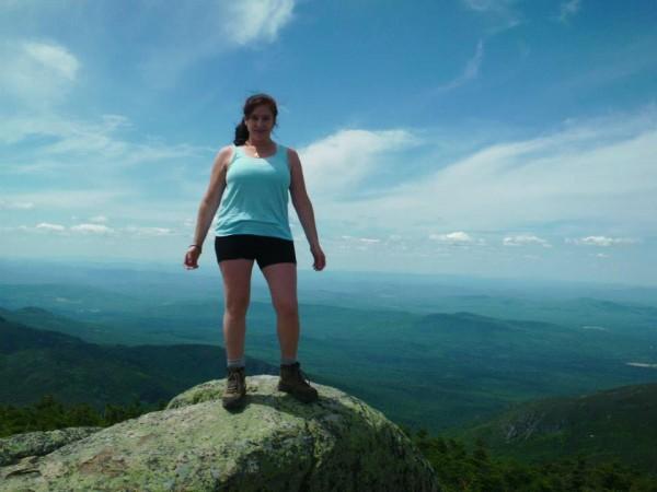 Marisa atop Mt. Monadnock