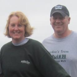 Gordon's Team at MS Challenge Walk 2012